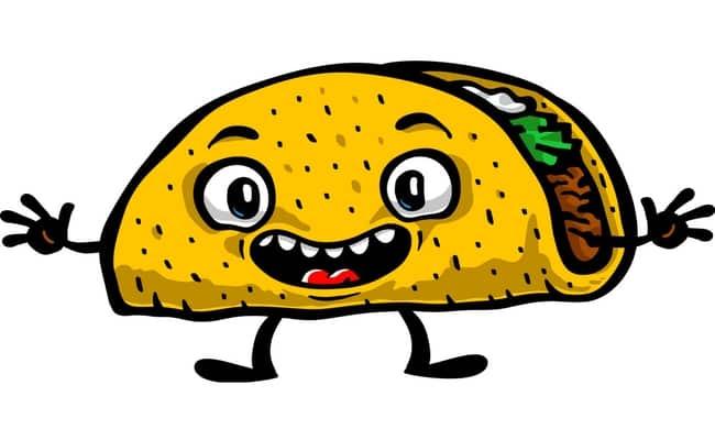 taco eating