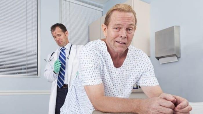 prostate exam
