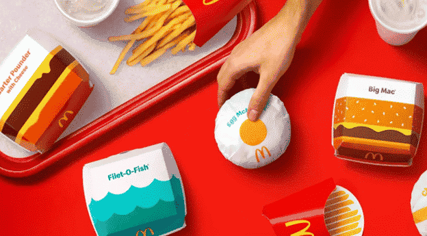 Here's A Quick Look At McDonald's Newest Vaccine Packaging